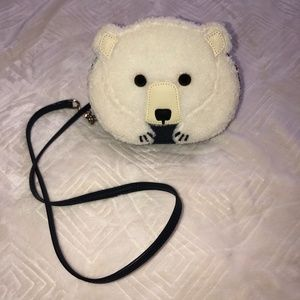 Kate Spade Cross Body Navel Blue Polar Bear Bag